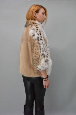 Lynxs - Mink Fur Jacket